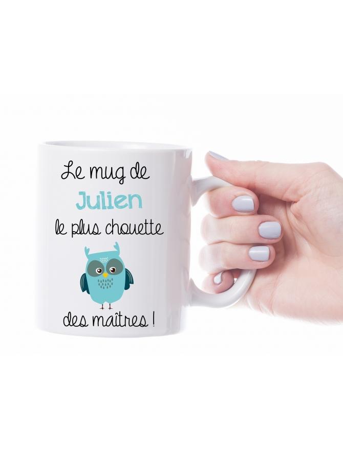 """Mug """"Le/La plus chouette"""" personnalisable"""