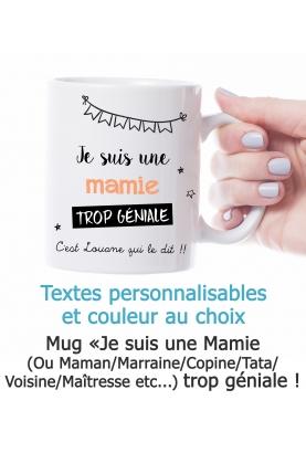 mug personnalisable, mug mamie, mug maman, mug maîtresse