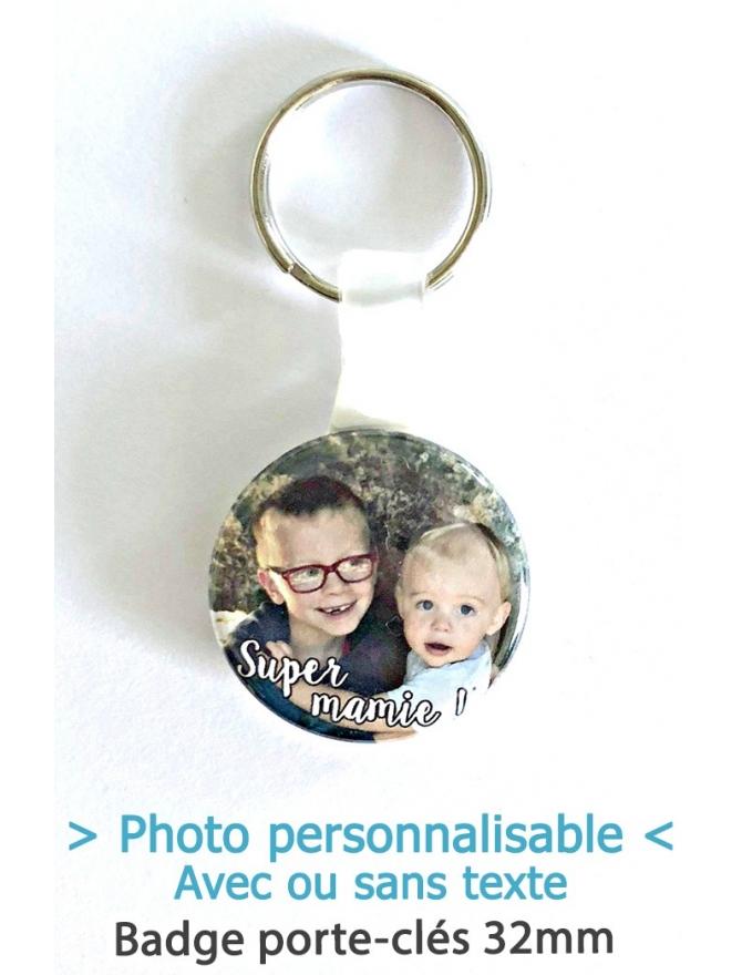 """Badge Porte-clés """"photo"""""""