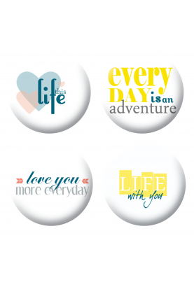 Badges life scrapbooking