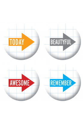 Badges textes fléches scrapbooking