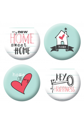 Badges home scrapbooking