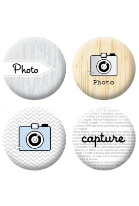 Badges photos 2 scrapbooking