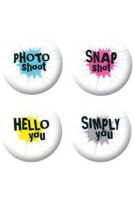 Badges textes taches 2 scrapbooking