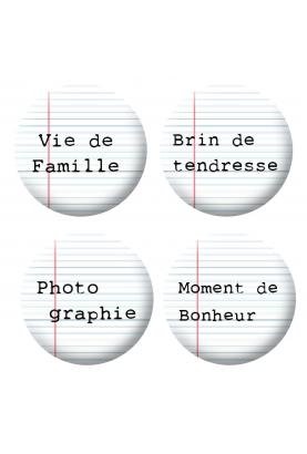 Badges mots 4 scrapbooking