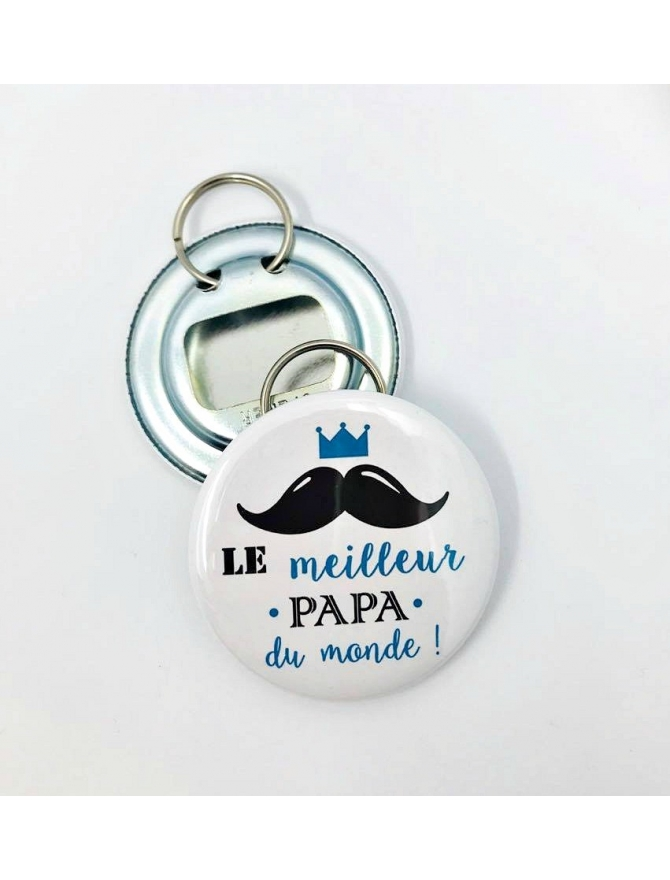 Badge à personnaliser décapsuleur papa