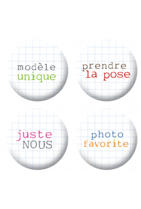Badges mots 2 scrapbooking
