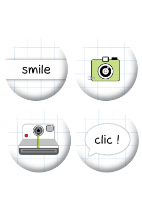 Badges photos