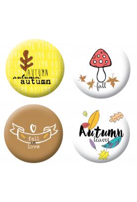 Badges automne scrapbooking
