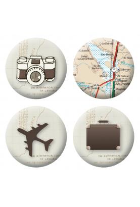 Badges voyages loisirs créatifs