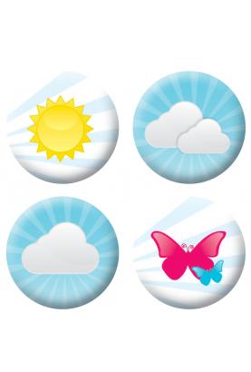 Badges vacances loisirs créatifs