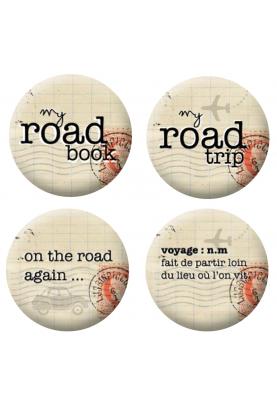 Badges road trip scrapbooking
