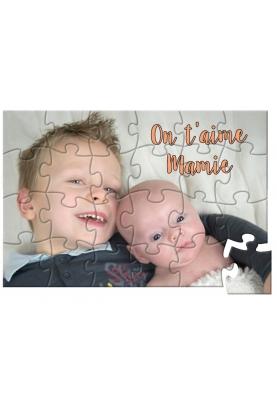 Puzzle photo avec ou sans texte