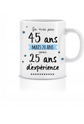 Mug anniversaire 45 ans