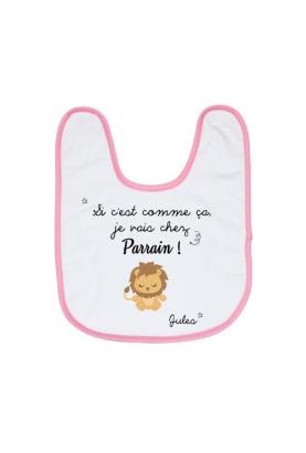 bavoir bébé. cadeau bébé original. cadeau naissance.