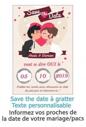save the date mariage. annonce mariage