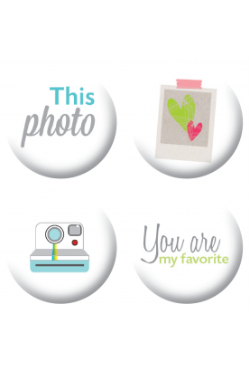 Badges this photo scrapbooking