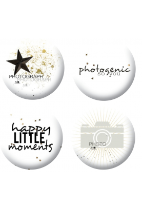 Badges photogenic scrapbooking