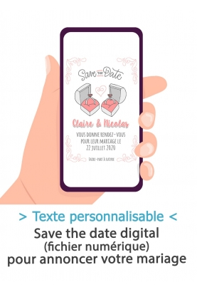 Save the date digitale - alliances
