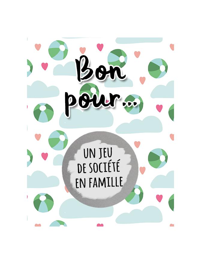 """cartes à gratter """"Bon pour"""" pour les enfants"""