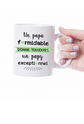 "Mug ""Formidable"" personnalisable"