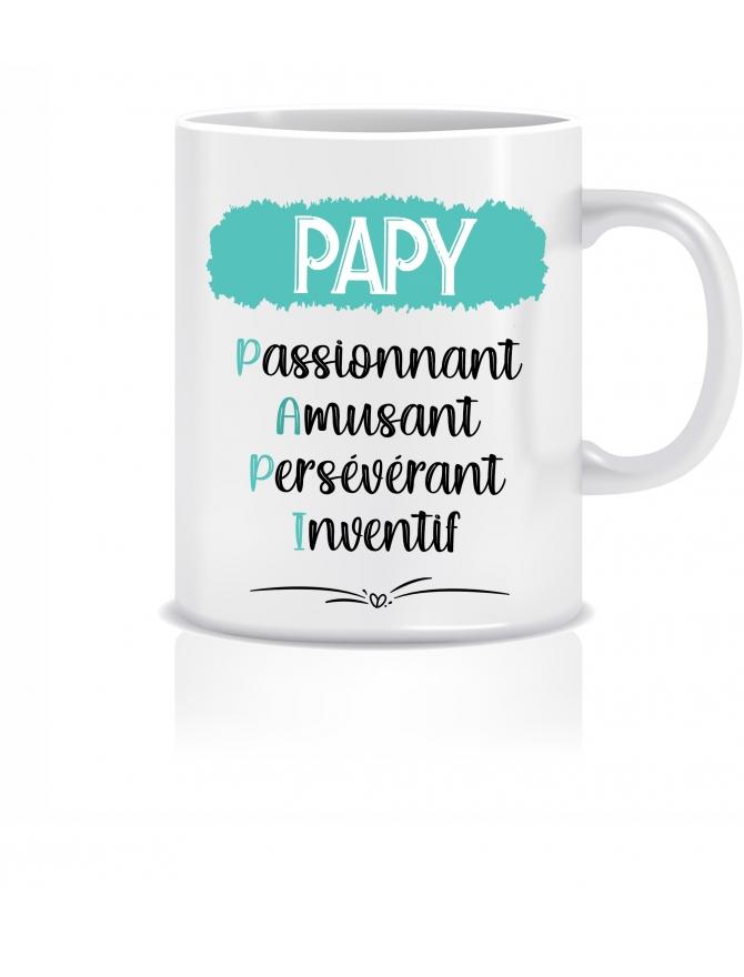 mug papy personnalisable