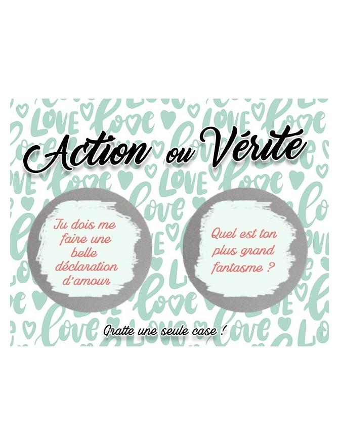 Action ou Vérité saint valentin