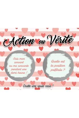 Action ou Vérité couple amoureux