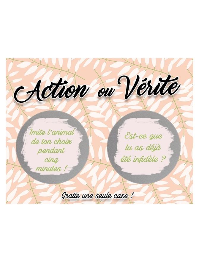 Action ou Vérité EVJF