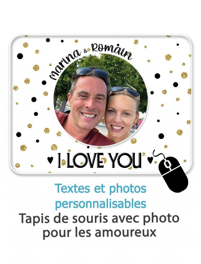 Tapis de souris photo - personnalisable
