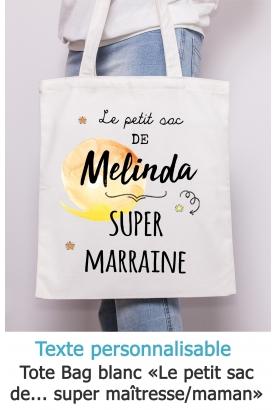 """Tote bag """"Le petit sac de..."""" à personnaliser"""