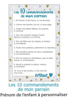 Les 10 commandements de mon parrain