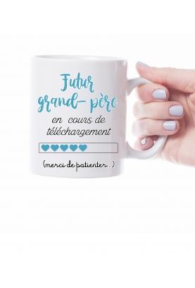 Mug futur grand père personnalisable