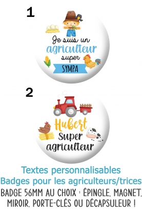 badges agriculteurs. badges ferme. badges agricultrices. badges fermier