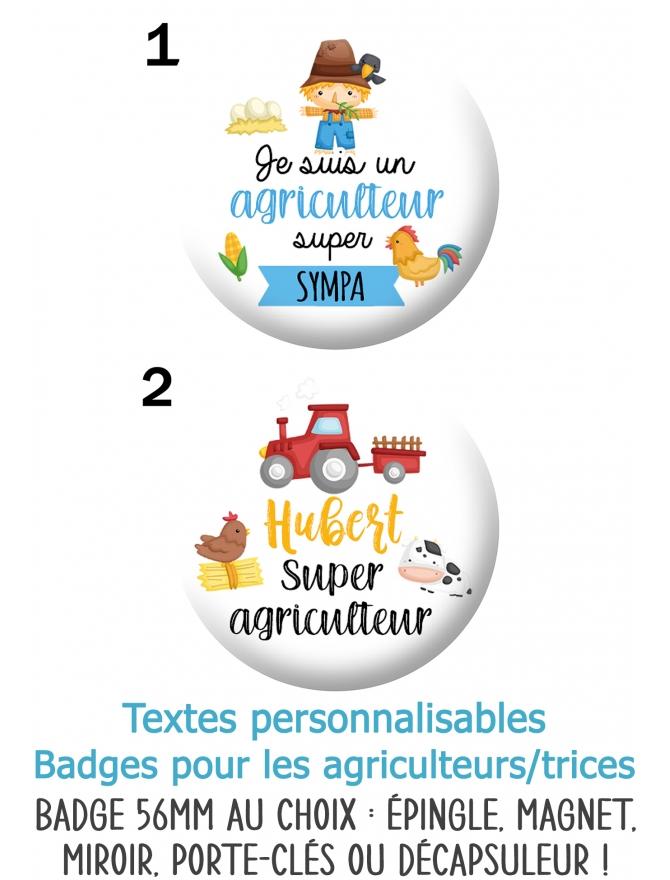 badges agriculteurs. badges ferme. badges agricultrices. badges fermier
