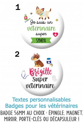 badges vétérinaires. badges médecin animaux. badges veterinaire animal. badges véto