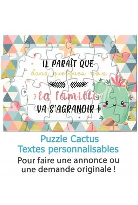puzzle surprise. cadeau anniversaire. cadeau puzzle. surprise fete