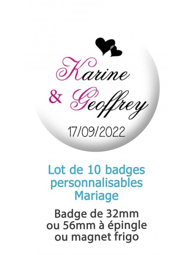 badges mariage cœur. badge mariage personnalisé. badge cœur. badge original mariage. badge feuillage. badge mariage cœur