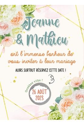 carte gratter fête. carte gratter anniversaire. invitation originale. invitation mariage. faire part mariage