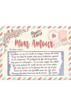 message amour. carte gratter couple. carte gratter amour. carte déclaration amour. demande mariage. demande pacs originale.