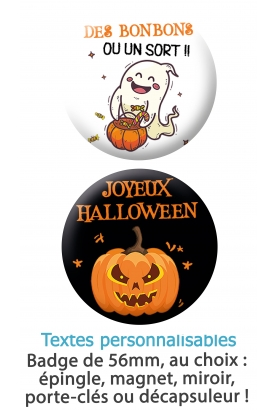 Badge halloween